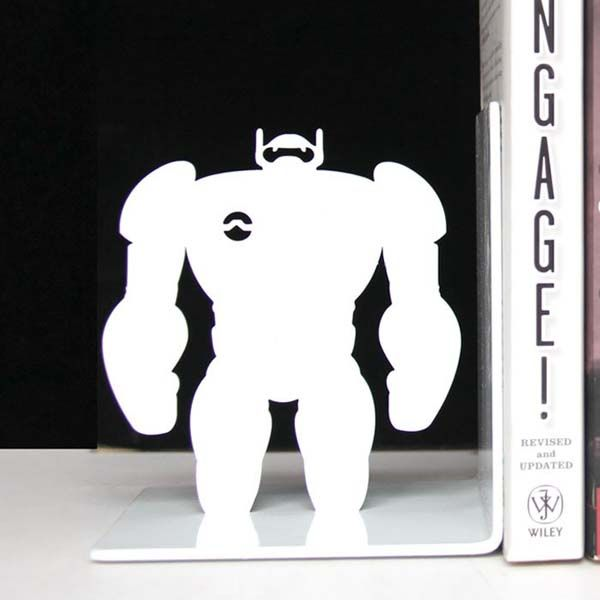 Big Hero 6 Baymax Bookends