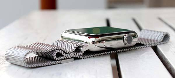 Bluestein Milanese Apple Watch Band