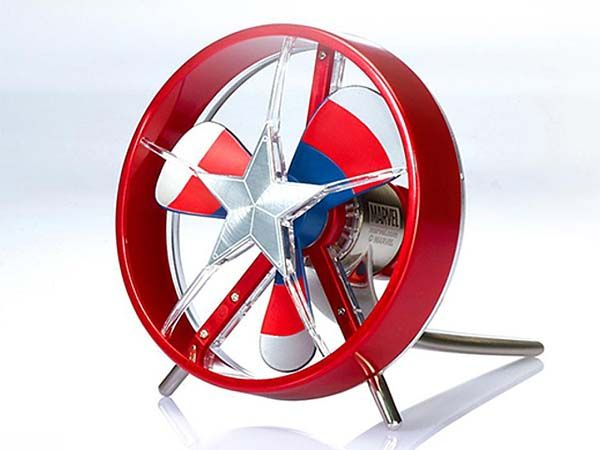 Captain America: Civil War Inspired Mini USB Fan