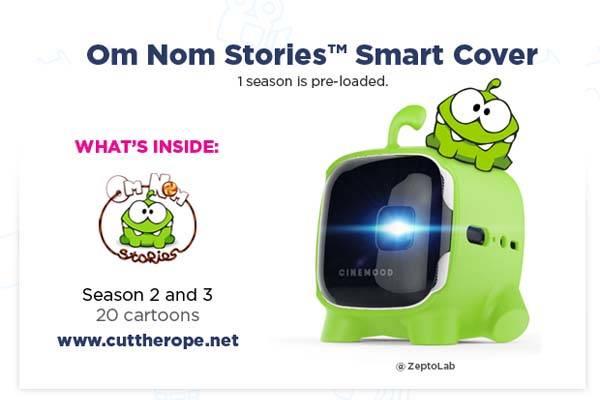 CINEMOOD v.2 Wireless Mini Cinema Projector for Families