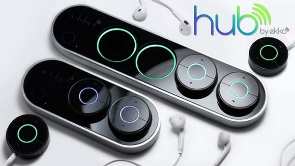 Ekke Hub with Wireless Audio Receivers