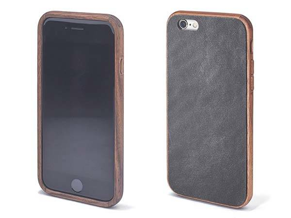 Grovemade Wooden and Leather iPhone 6s/ 6s Plus Case