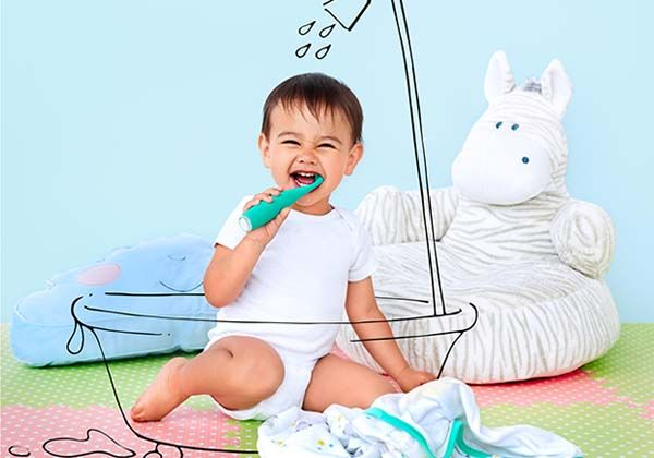 ISSA Mikro Baby Electric Toothbrush