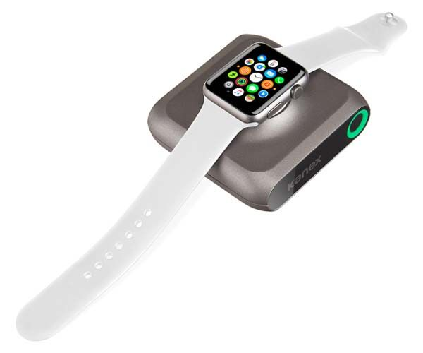 Kanex GoPower Watch Portable Power Bank for Apple Watch and iPhone