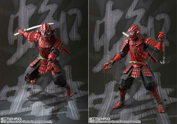 Samurai Spider-Man Action Figure
