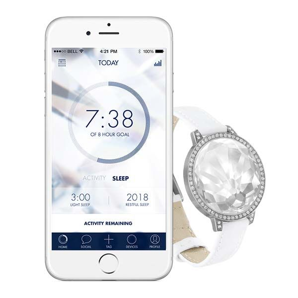 misfit swarovski activity crystal fitness tracker for ladies gadgetsin. Black Bedroom Furniture Sets. Home Design Ideas