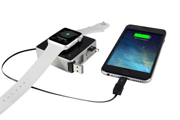 oCharger Pro Portable Wireless Charger with Power Bank, Card Reader and Charging Cable