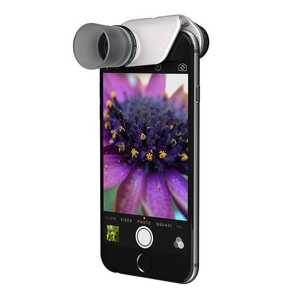 Olloclip Macro Pro Lens Set Turns iPhone into Digital Microscope or Loupe