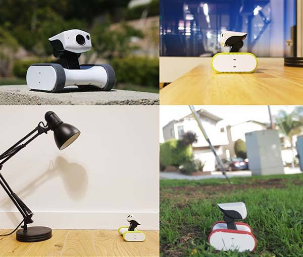 Riley Movable Smart Security Camera with Night Vision and Motion Detection