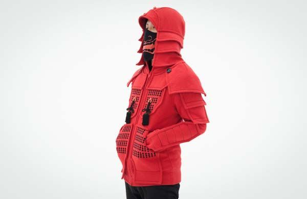 Samurai Armor Hoodies Disguise You as Modern Ronin