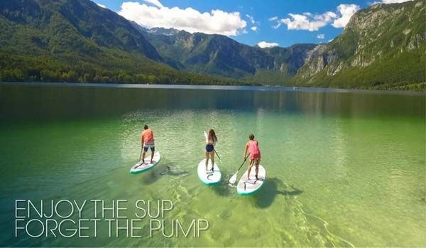 SipaBoards Air Self-Inflating Stand Up Paddle Board