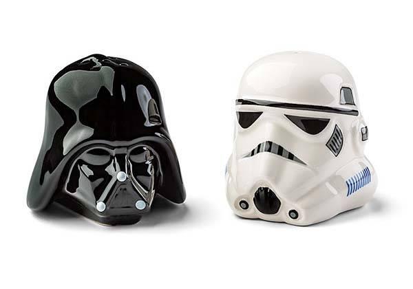 Star Wars Darth Vader & Stormtrooper Salt and Pepper Shakers