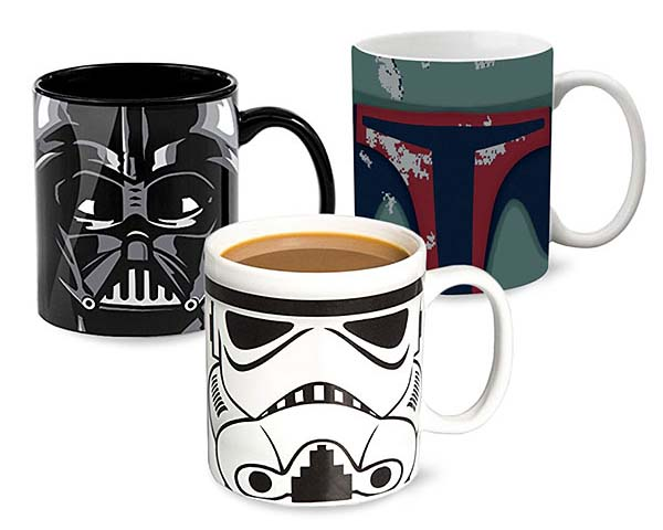 Star Wars Wraparound Coffee Mugs