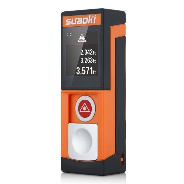 Suaoki D5T Compact Bluetooth Digital Laser Distance Measurer