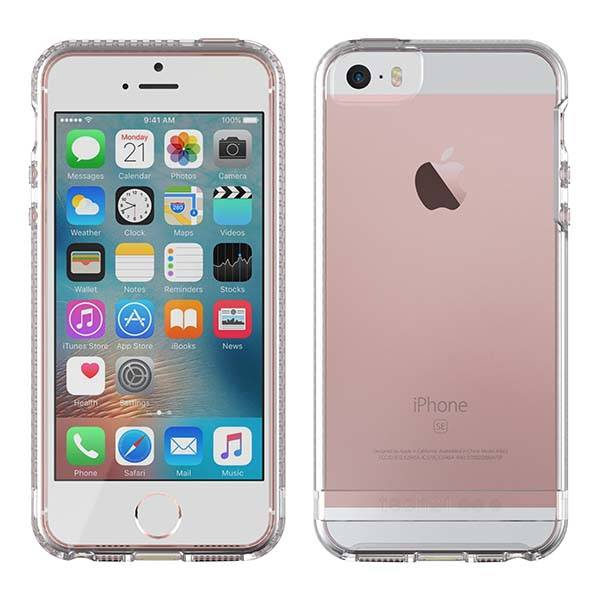 timeless design a9350 f3827 Tech21 Impact Clear iPhone SE Case | Gadgetsin