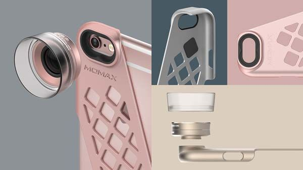 The Cam iPhone 6/6s Case wih Interchangeable Lenses