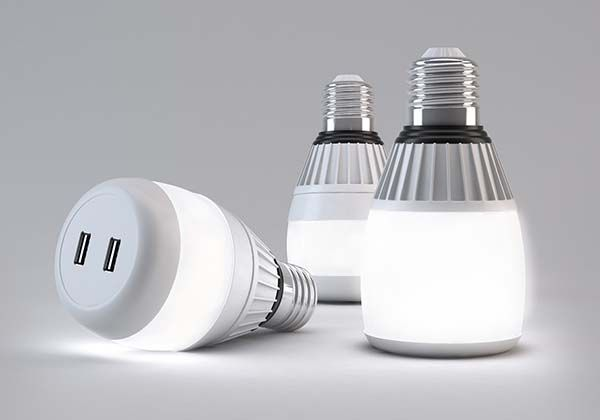 Concept LED Bulb Boasts Built-in USB Charger