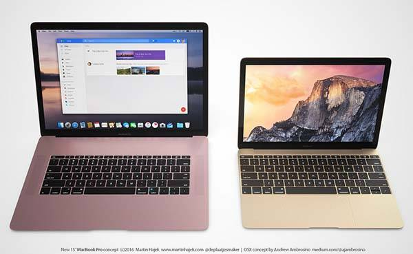 The Concept MacBook Pro Features Rose Pink Coating
