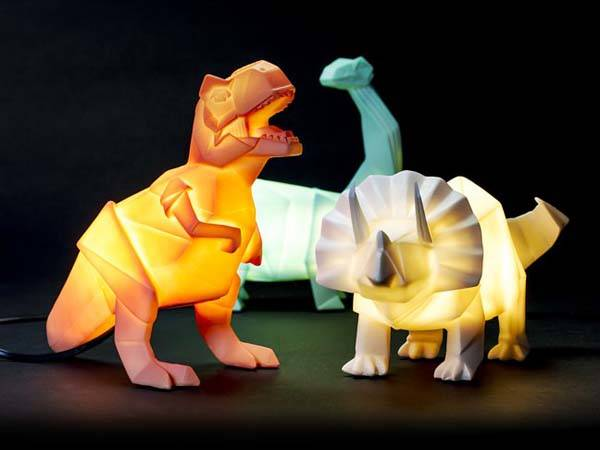 The Dinosaur LED Lamp