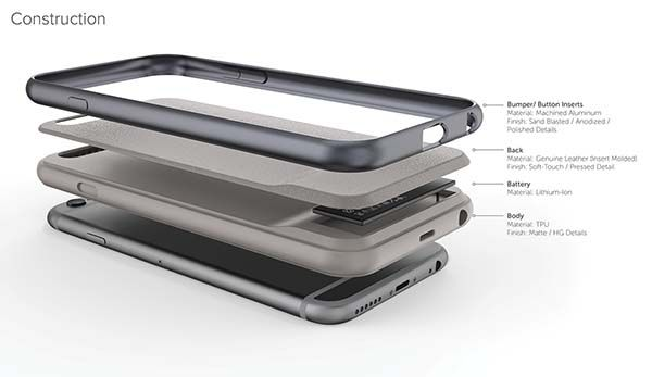 The Fuse Ultra-Thin iPhone 6/6s Battery Case