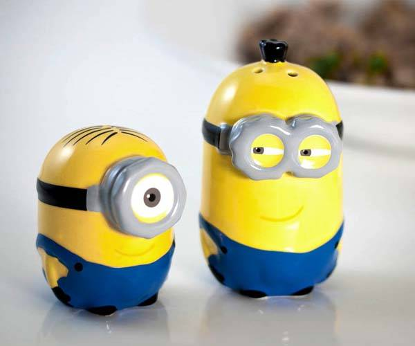 The Minions Salt and Pepper Shakers