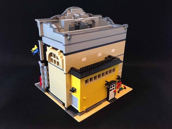 The Modular LEGO Store Built with LEGO Bricks