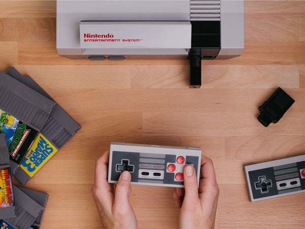 The Retro Receiver Makes NES Work with Wireless Controllers