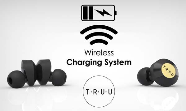 Truu Bluetooth Earbuds with Wireless Charging