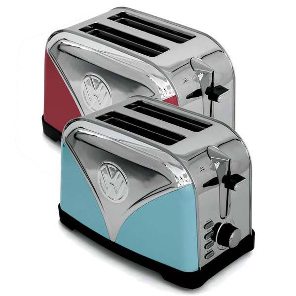 The VW Camper Van Toaster Inspired 2-Slice Toaster