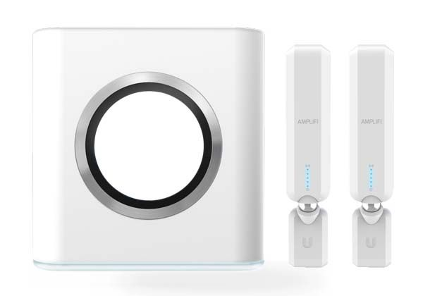 AmpliFi WiFi Router with Two Range Extenders