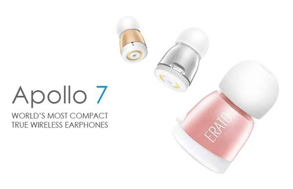 Apollo 7 Compact Waterproof Wireless Earbuds