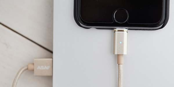 ASAP Connect 18K Gold Plated Magnetic USB Charging Cable