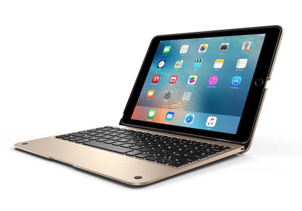 ClamCase Plus iPad Air 2 Backlit Keyboard Case