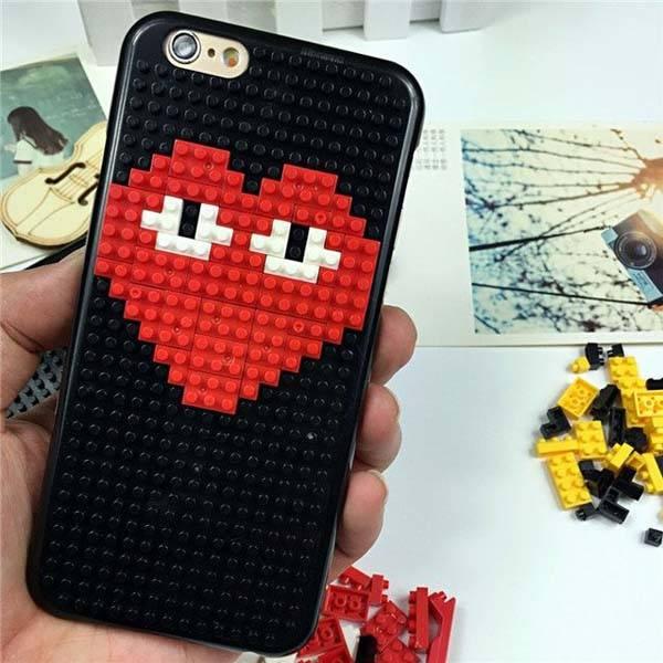Diamond Blocks iPhone 6s/6s Plus Case with Included Building Blocks