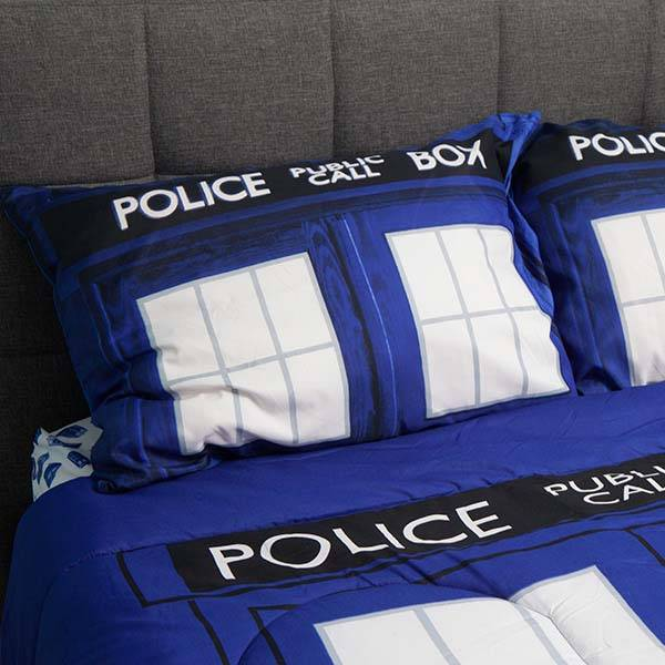 Doctor Who TARDIS Bedding
