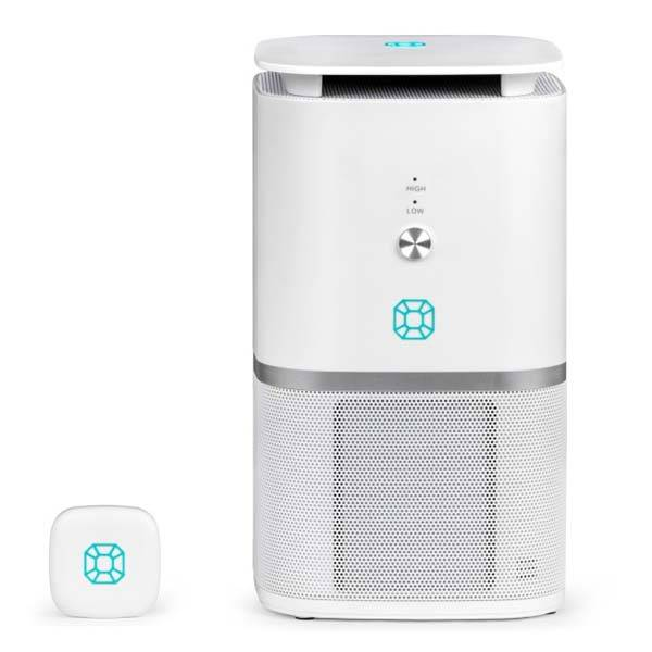Emerald Airadicate Smart Air Purifier with Separate Air Monitor