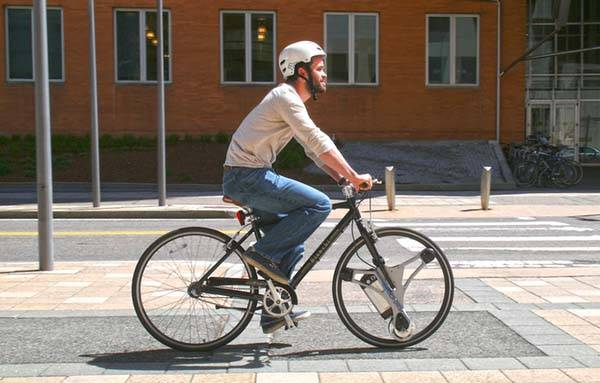 GeoOrbital Wheel Turns Regular Bicycle into an Electric Bike