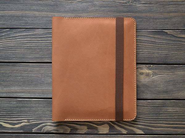 Handmade iPad Pro Leather Case for 9.7 iPad Pro, Notebook, iPhone, Earbuds and More