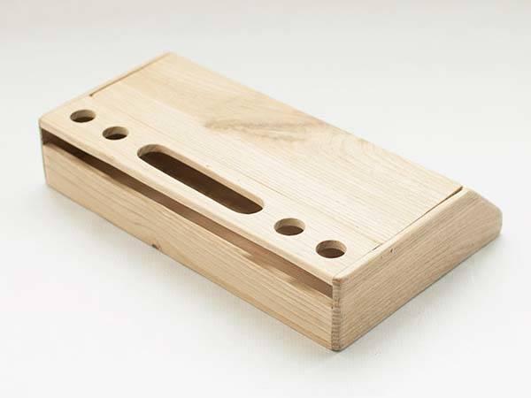 Handmade Modern Nordic Wooden Desk Organizer