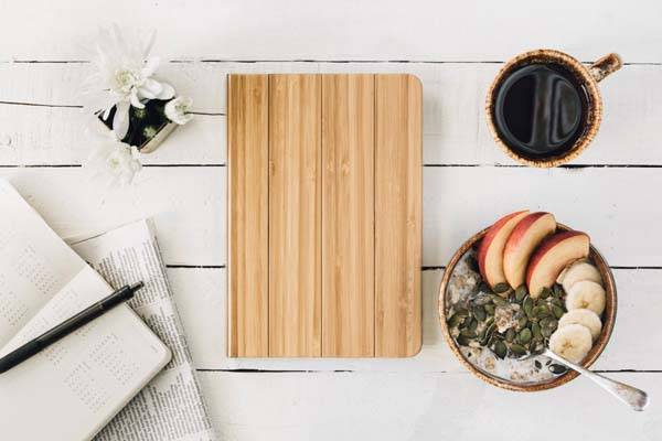Handmade Wood iPad Mini 4 Case