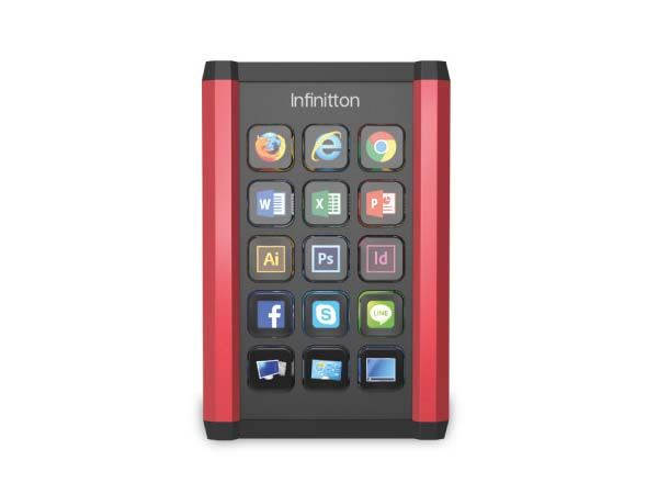 Infinitton Customizable Screen Keyboard for Windows and Mac