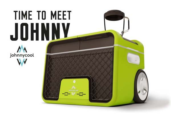 Johnny Cool Cooler with Bluetooth Speaker, Bottle Opener, Blender and Power Bank