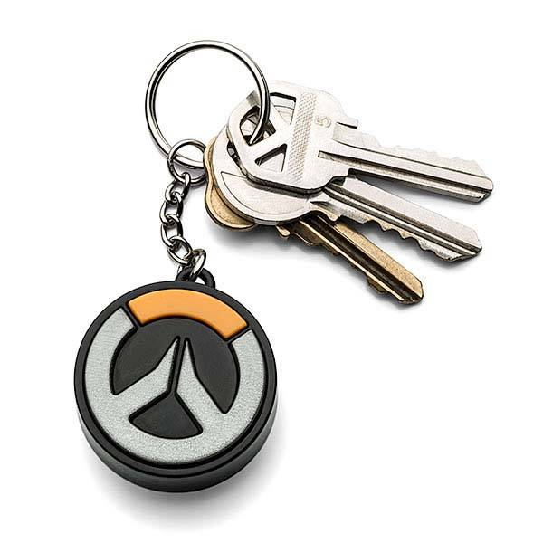 Overwatch Logo Light-Up Keychain