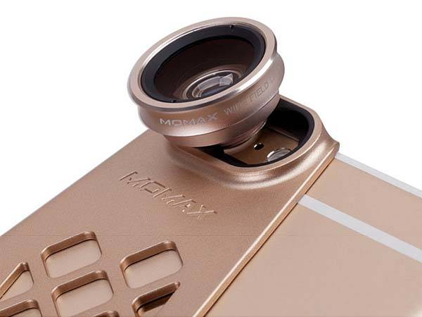 Momax X-Lens iPhone 6s Case with Phone Lenses