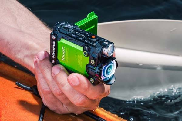 Olympus Stylus Tough TG-Tracker Waterproof Action Camera