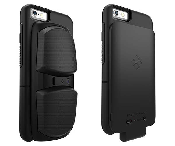 OtterBox uniVERSE Modular iPhone 6s/6s Case with Bluetooth Speaker and Power Bank