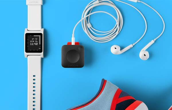 Pebble Core Music Player with GPS Tracker