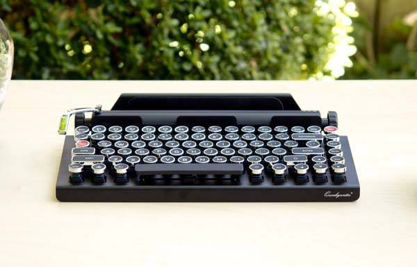 Qwerkywriter Typewriter Inspired Wireless Keyboard