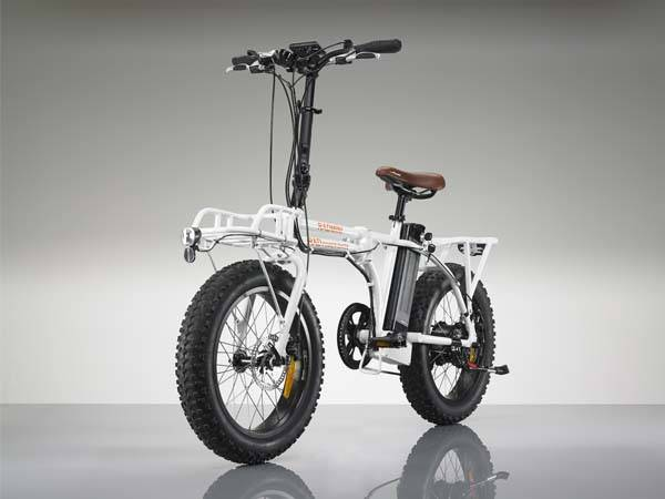Radmini Folding Electric Bike With All Terrain Wheels Gadgetsin