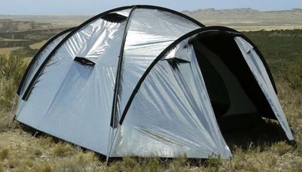 Siesta4 Heat and Light Blocking Camping Tent